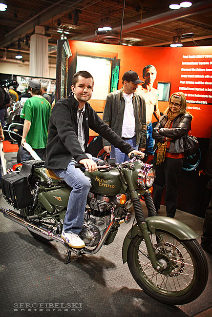 calgary motorcycle show photo