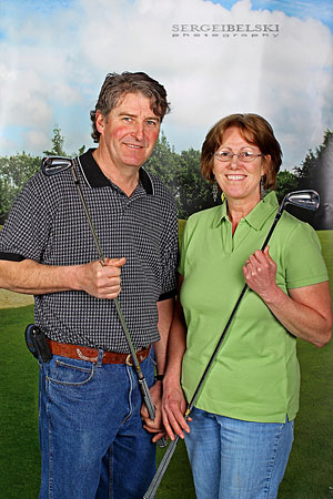 calgary photographer chinook golfer trade show photo
