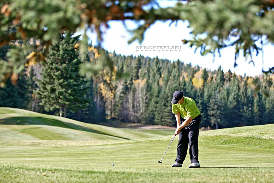 calgary sports photographer golf photo