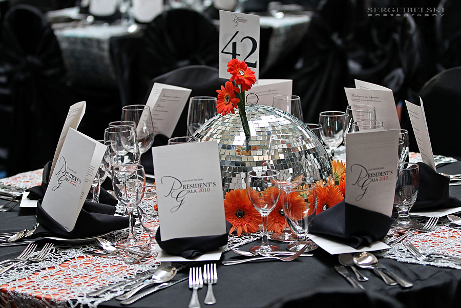 calgary event photographer SAIT president's gala photo