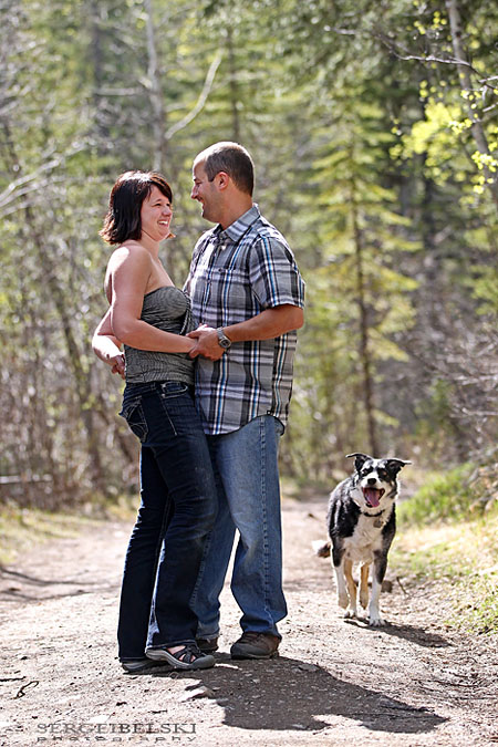 sergei belski wedding photographer engagement in kananaskis photo