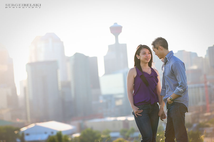 engagement calgary sergei belski photo
