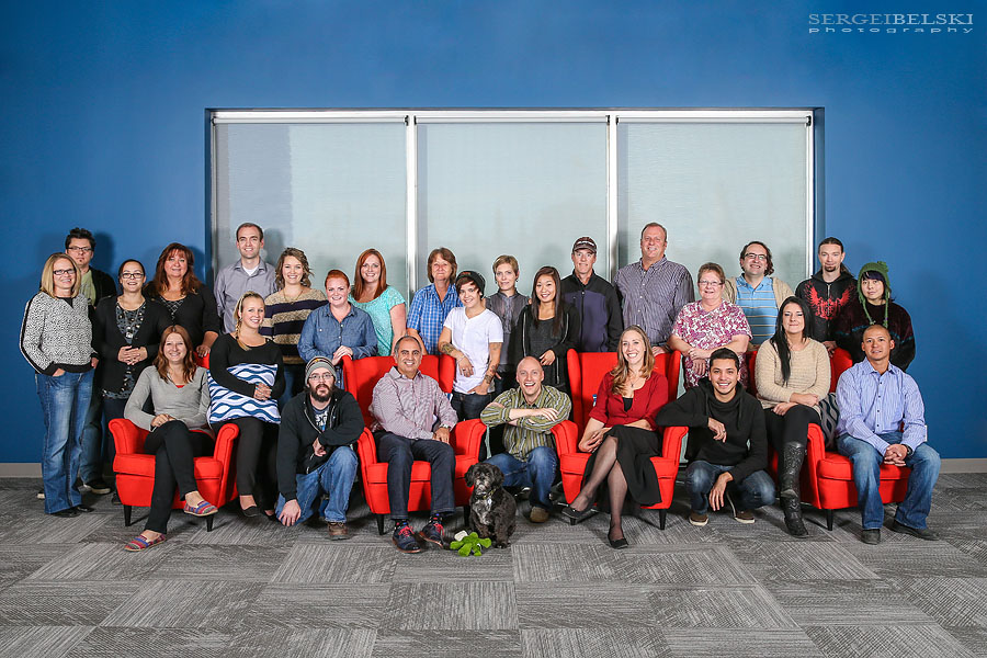 corporate group portrait photographer sergei belski photo