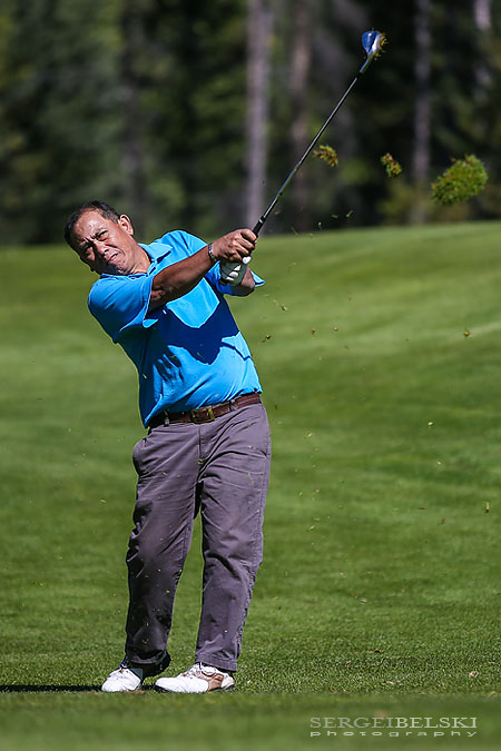 stmu golf tournament canmore silvertip sergei belski photo