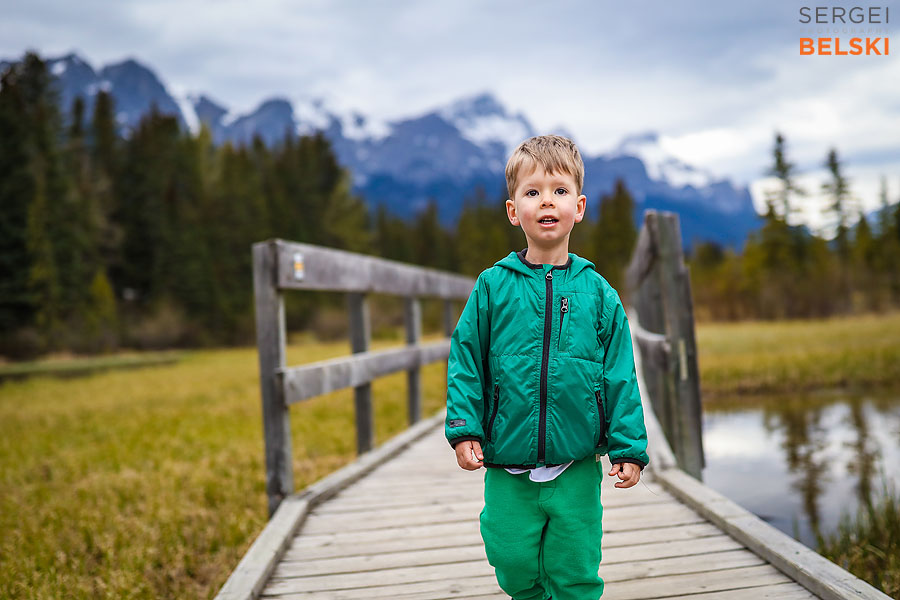 canmore family photographer sergei belski photo