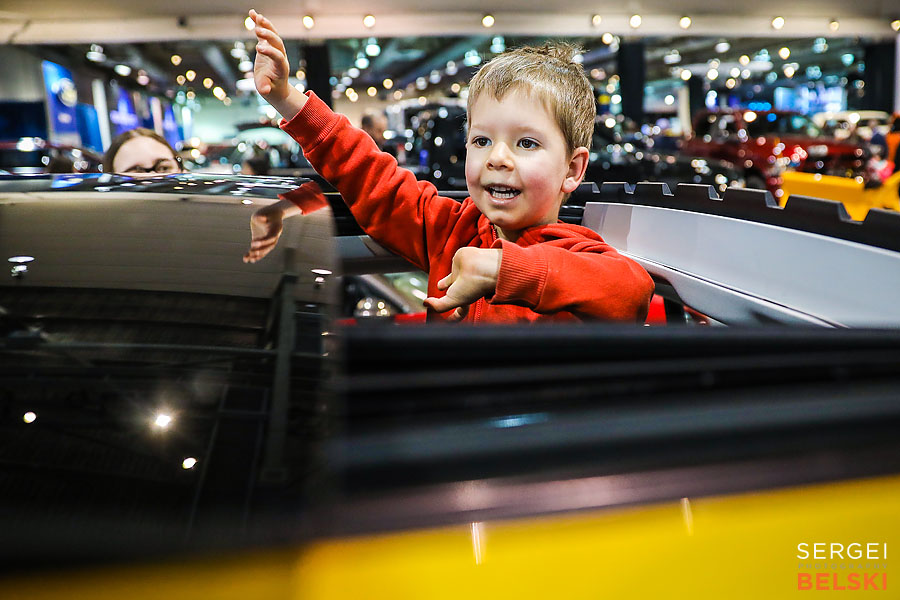 calgary international auto and truck show sergei belski photo
