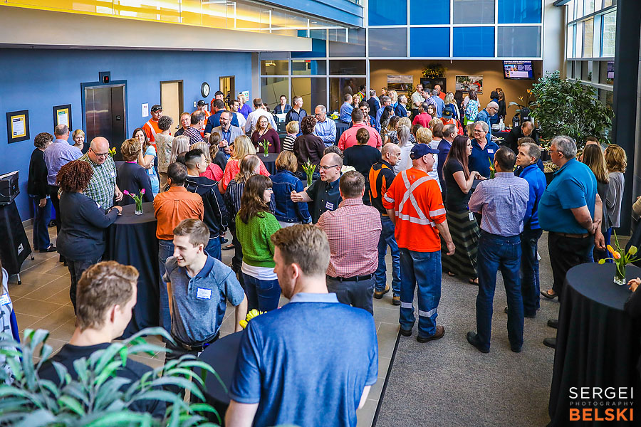 fortis alberta airdrie corporate event sergei belski photo