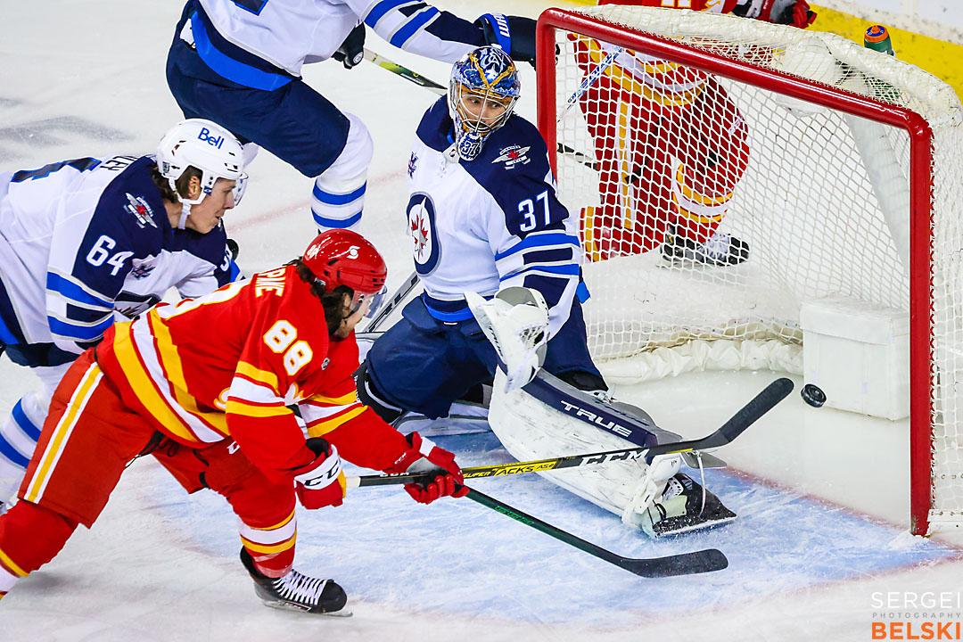 nhl hockey calgary sports photographer sergei belski photo
